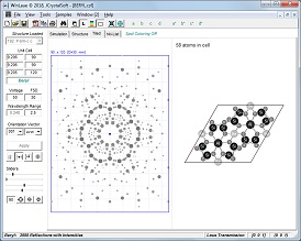 JCrystalSoft, Crystallography, Software, Fourier Transform